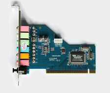 SCHEDA AUDIO PROFESSIONALE - SOUND CARD PCI DOLBY 7.1 - 3D DIG. SOUND - 8 CANALI