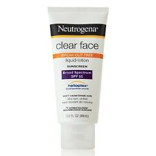 Neutrogena Clear Face Sunscreen/Sunblock Lotion,SPF 55(Break-out Free Lotion)
