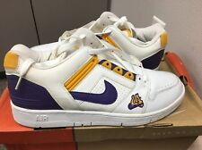 Nike Air Force II Lakers LA Flyknit Lunar Max DS 12