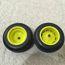 Team Associated   Rc10 T truck GT Front Yellow Rims Wide Offset Kyosho Tires