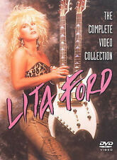 LITA FORD - THE COMPLETE VIDEO COLLECTION NEW DVD