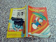 TOPOLINO LIBRETTO N.419 ORIGINALE MONDADORI 1963 OTTIMO CON BOLLINO E CEDOLA