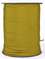 Mustard Yellow - 550 Paracord Rope 7 strand Cord - 1000 Foot Spool