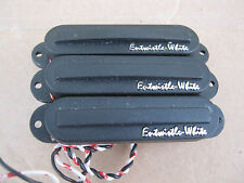 3 x ENTWHISTLE - WHITE PICKUPS