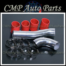 RED 1993-1995 MAZDA RX-7 RX7 1.3 1.3L FD3S TWIN TURBO AIR INTAKE PIPE DIY KIT