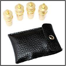 Universal Brass Off Road 4x4 Air Down Adjustable 6-30psi Tire Deflators Kit