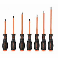 7 pc ELECTRICIAN'S INSULATED ELECTRICAL HAND SCREWDRIVER TOOL SET Fast Shipping