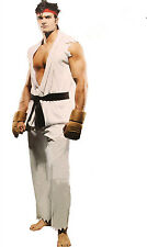 Halloween Fancy Costumes Street Fighter Cosplay Outfit Set Adult Man Costumes