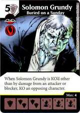 Dados Maestros Justice League Solomon Grundy – enterrado en domingo