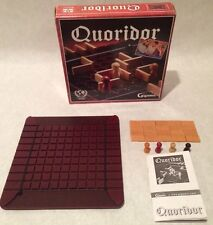 Quoridor Strategy Board Game Gigamic Wooden Maze Complete Good Condition France