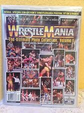 WWE MAGAZINE WRESTLEMANIA I – X ULTIMATE PHOTO COLLECTION VOL. 1 2005 NEW IN BAG