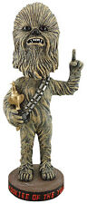 "Rare 2015 SF Giants Star Wars Chewbacca ""Wookie of Year"" bobblehead w/ Trophy"