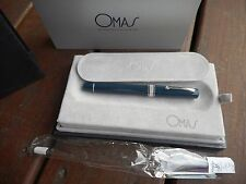 OMAS MILORD BLUE FOUNTAIN PEN  LIMITED EDITION OM-154