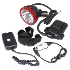 CREE 10W T6 LED Miner Light Hunting Camping Fishing Headlamp 2-Mode KL6.6LM IP67