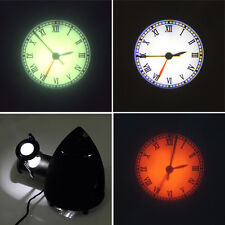 New Projection LED Clock Rome Numeral Style Big Display Alarm Clock New Black