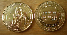 Medal Celine Dion Museum Grevin 2014 Unc Paris France Free Shipping World