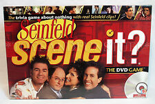 New SEINFELD SCENE IT? DVD Trivia Game NBC TV Show REAL CLIPS Family Fun JERRY