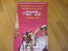 The POPE & WITCH  feat  Frances De La Tour  COMEDY Theatre Original Poster
