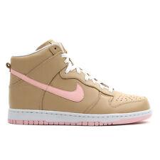 Nike Dunk PRM Hi SP SZ 10 Linen Tan Atmosphere Pink SB QS Premium 624512-200