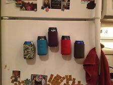 3 Magnetic Koozies Coozies Can Holders Bottle, Drink, Beer, Golf Tailgate, BBQ