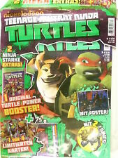 Nickelodeon Teenage Mutant Ninja Turtles Ausgabe 004  mit 2 Mega Extras