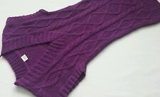 Women's ESPRIT wool,mohair  jumper tunic purple color  size S BNWOT