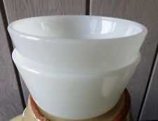 Anchor White Fire King Custard Cups (2) Glass Ovenware Perfect Condition