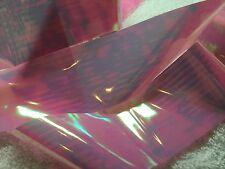 Nail art /holographic broken glass angel paper /foil Pink/blue 1 meter length