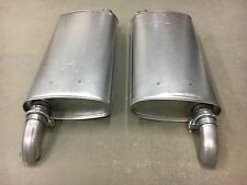 1958-1960 Ford Thunderbird Dual Exhaust Stock Muffler Set Direct Fit Right Left