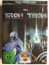 TRON COLLECTION - TRON DAS ORIGINAL & TRON LEGACY - 3 DVD BOX