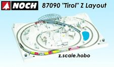 "NOCH 87090 Z Scale Train Layout Tirol 30""x20"" NEW *USA DEALER* English Plan"