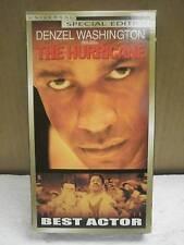 VHS MOVIE- THE HURRICANE- DENZEL WASHINGTON- USED- L180