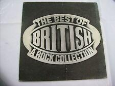 THE BEST OF BRITISH - LP VINYL ZEBRA 1985 - PAUL DI ANNO - MARSEILLE - SAVAGE