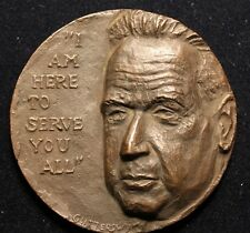 UNITED STATES UNITED NATIONS 1961 DAG HAMMARSKJOLD DEATH LARGE HEAVY MEDAL  N135