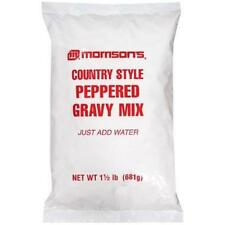 Lot of Two, 24 oz. MORRISON'S COUNTRY STYLE PEPPERED GRAVY MIX