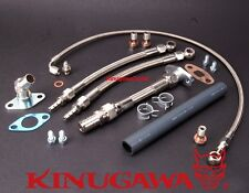 Turbo Oil & Water Line TOYOTA 1JZ-GTE 2JZ-GTE w/ Garrett T04Z Ball Bearing Turbo