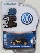 GL CLUB V-DUB SERIES 3 1949 VOLKSWAGEN TYPE 1 SPLIT WINDOW BEETLE with FLAMES