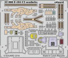 Eduard PE 32808 1/32 Lockheed F-104G Starfighter C2 seatbelts Italeri