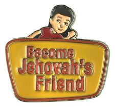JW.ORG LAPEL PINS BECOME JEHOVAH'S FRIEND TIE PINS SET OF 5