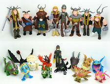 21 pcs Hiccup Night Fury Toothless How to Train Your Dragon Action Figures Toy