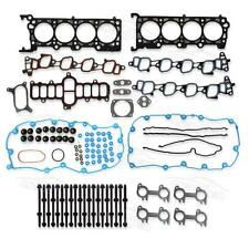 Head Gasket kit Head Bolts For Ford Mercury Lincoln 5.4L SOHC V8 VIN L W