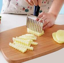 French Fries Chips cutter potato carrot sweet potato vegetables zig zag cutter