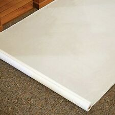 Plain White 100 Foot Rayon Aisle Runner Wedding Ceremony Decoration