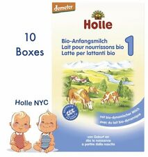 Holle Stage 1 Organic Formula, 10 BOXES, 400g, 01/2018 FREE EXPEDITED SHIPPING