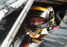 Jan Magnussen SIGNED, Chevrolet Corvette Helmet Portrait, Sebring 12hrs 2014