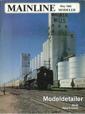 Mainline Modeler May 89 UP Dash 8-40C B&A Boston & Albany Reefer GN C&O B&O EMD
