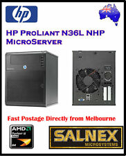 HP ProLiant N36L Micro Server Duel Core Network Storage NAS Raid 4-Bay + 250GB