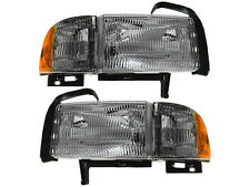 Dodge Ram Truck 1500 2500 3500 Headlight Head Light With Corner Pair Set
