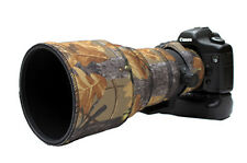 Sigma 300mm f2.8 neoprene lens protection camo cover English Oak