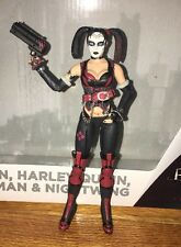 DC Collectibles Batman Arkham City 4 Pack Revenge HARLEY QUINN Loose Figure